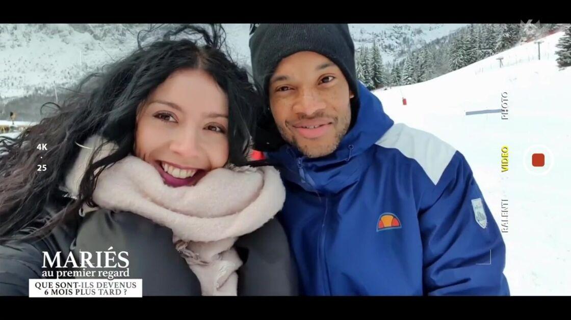 Mélina et Yannick dans l'émission