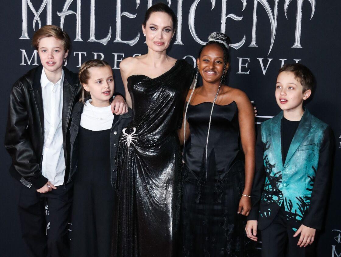 Shiloh, Vivienne, Angelina, Zahara et Knox