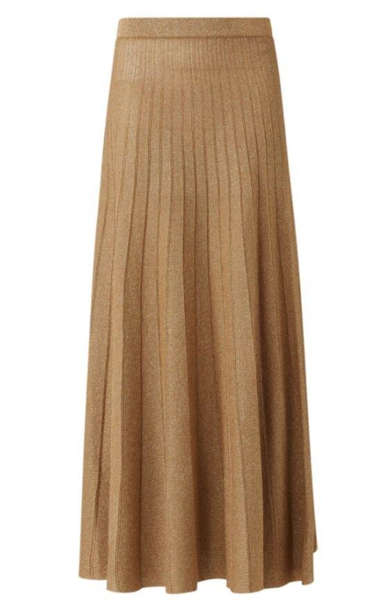 La jupe en lurex de Kate Middleton est signée Joseph et coûte 345 €