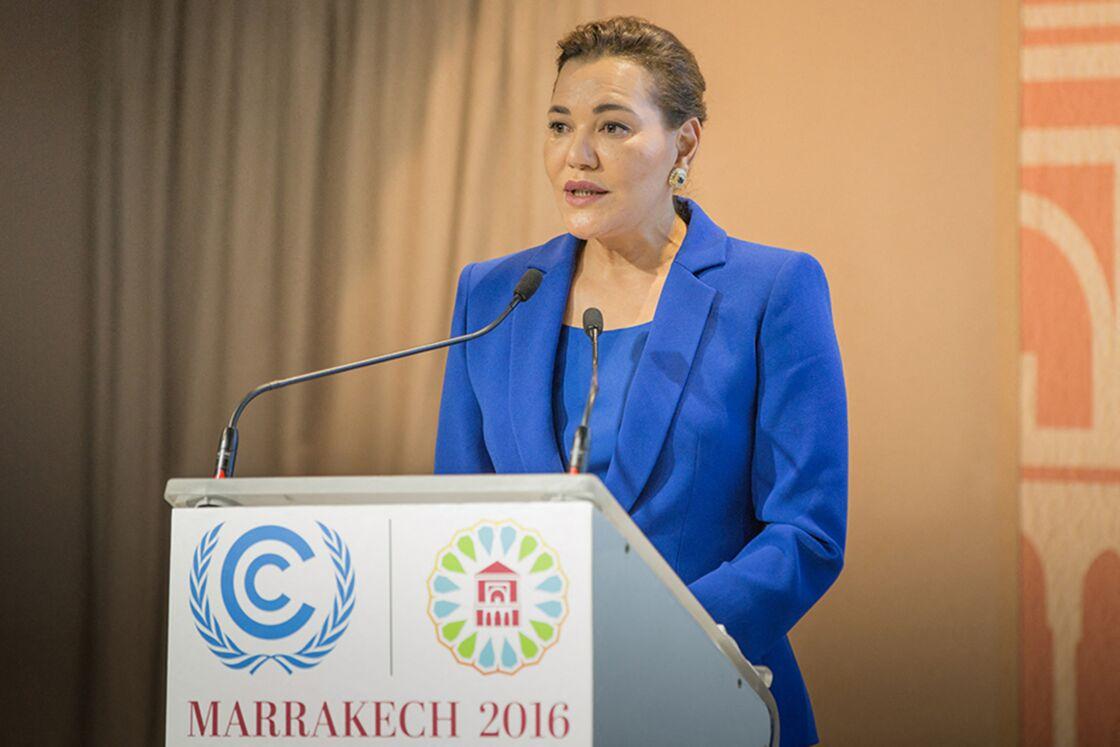 Lalla Hasnaa, lors de la COP 22 à Marrakech le 15 novembre 2016.