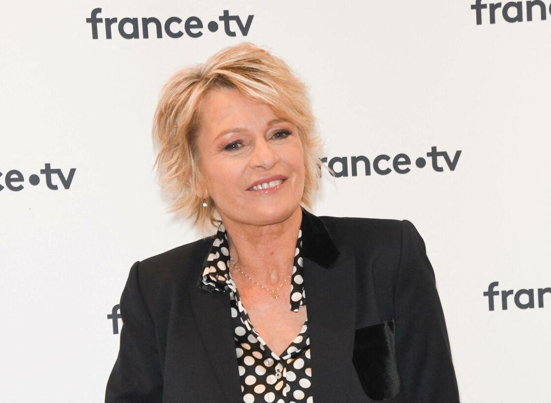 Sophie Davant - Conférence de presse du Téléthon 2019 dans les locaux de France Télévision à Paris le 4 novembre 2019