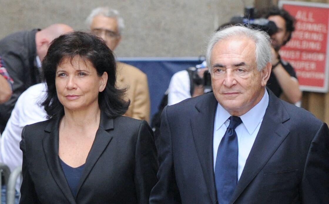 Anne Sinclair et DSK à New York le 6 juin 2011