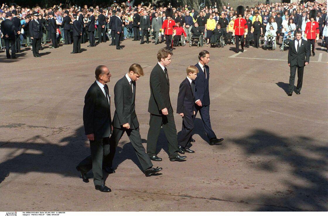 Le jour des funérailles de Lady Diana