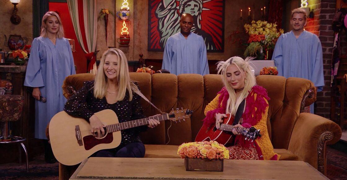 Des stars comme Lady Gaga ont fait leur apparition lors de l'épisode spécial.