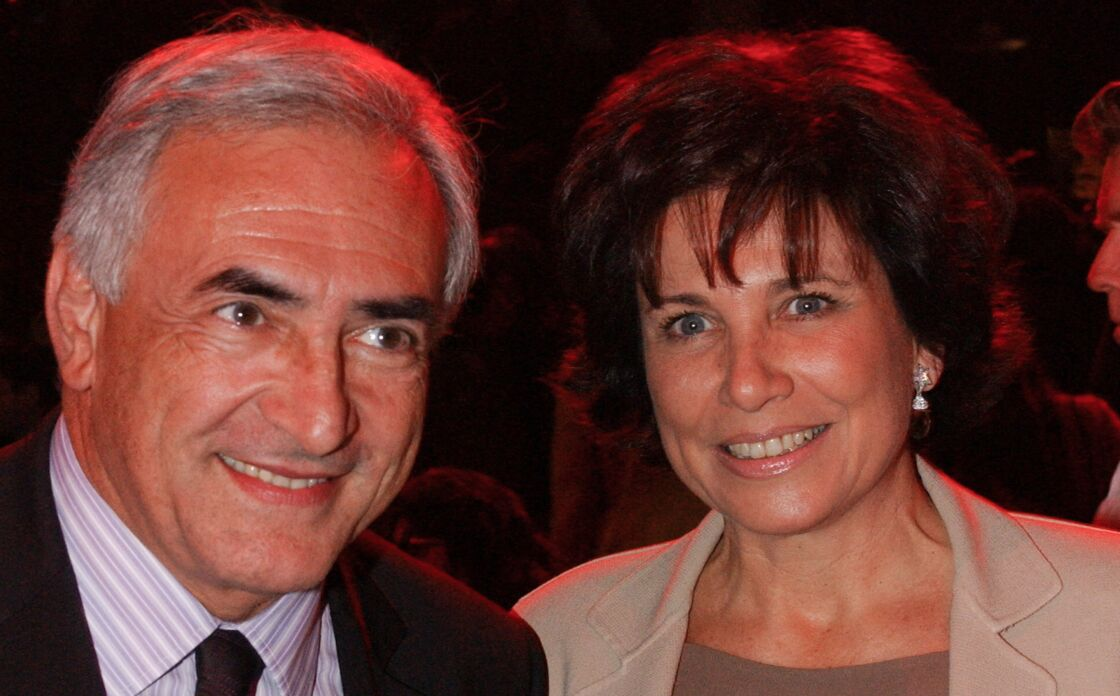 Dominique Strauss-Kahn et Anne Sinclair le 18 mai 2005 à Paris