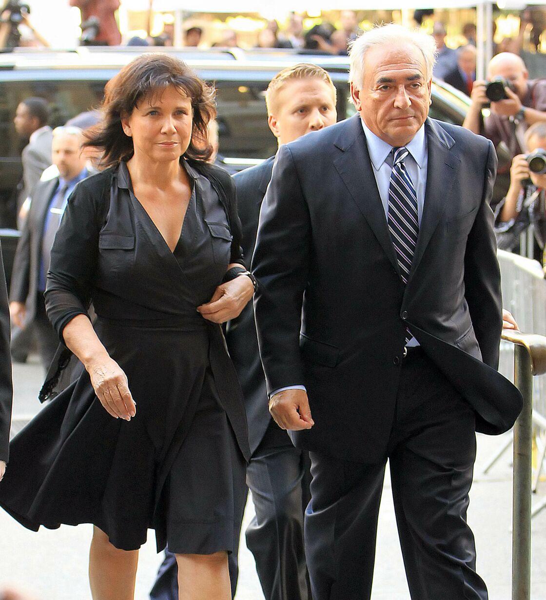 DSK et Anne Sinclair à New York