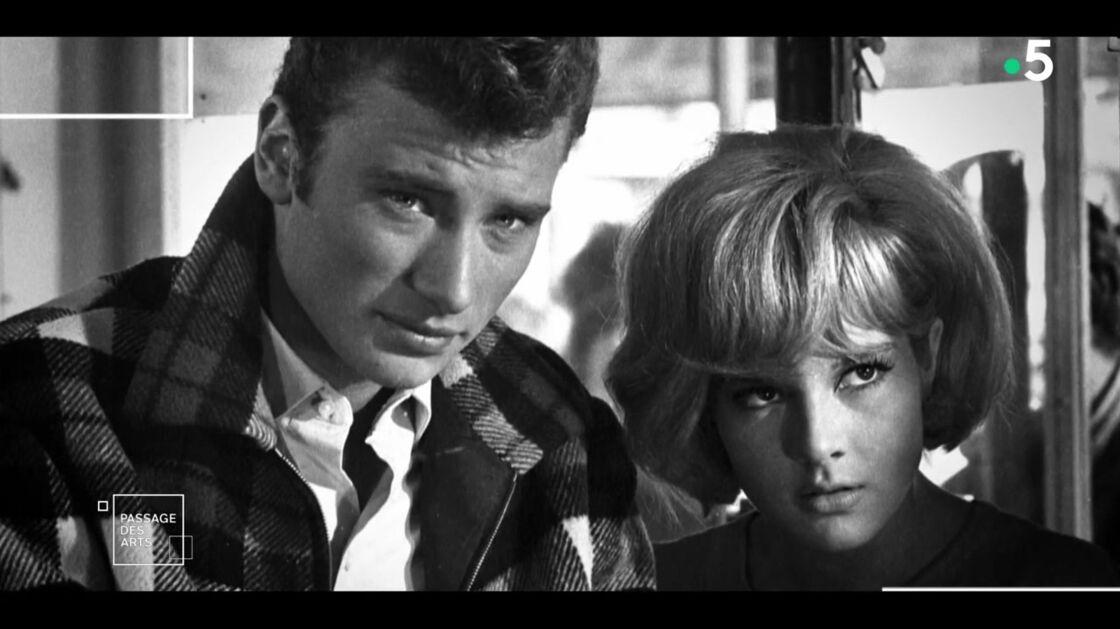Capture de Johnny Hallyday et Sylvie Vartan dans l'émission