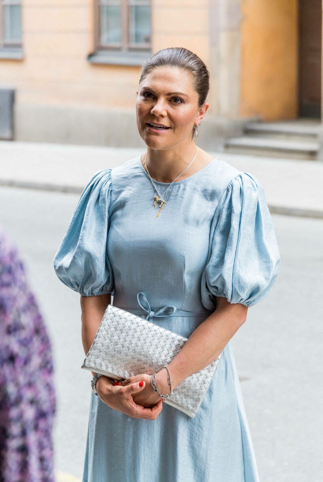 Victoria de Suède porte des bijoux à l'effigie de Fifi Brindacier le 31 mai 2021