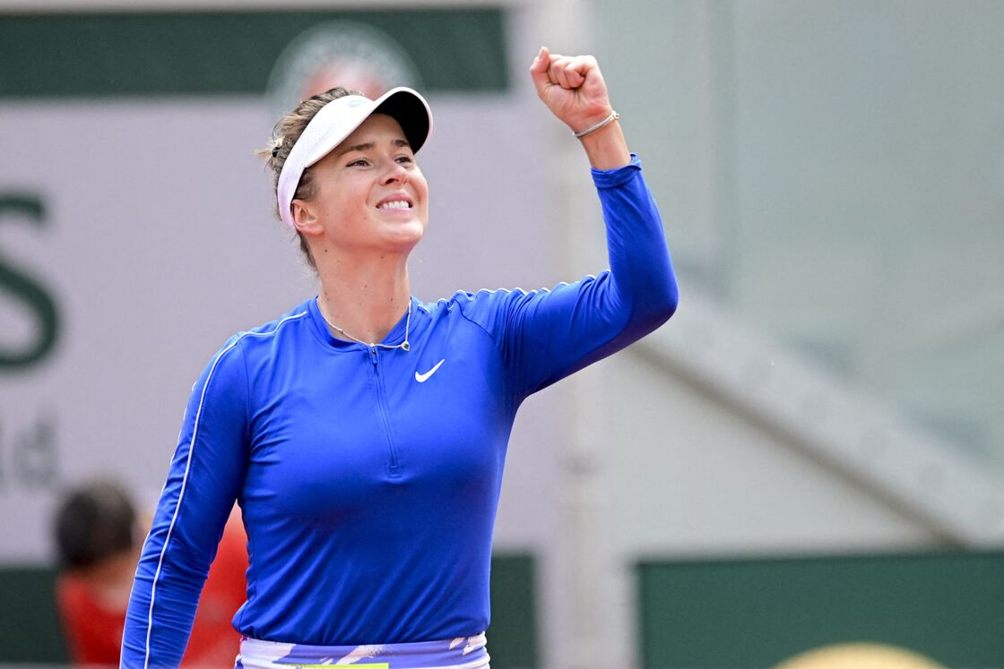 Elina Svitolina (ukr) - Internationaux de France de tennis de Roland Garros à Paris le 4 octobre 2020