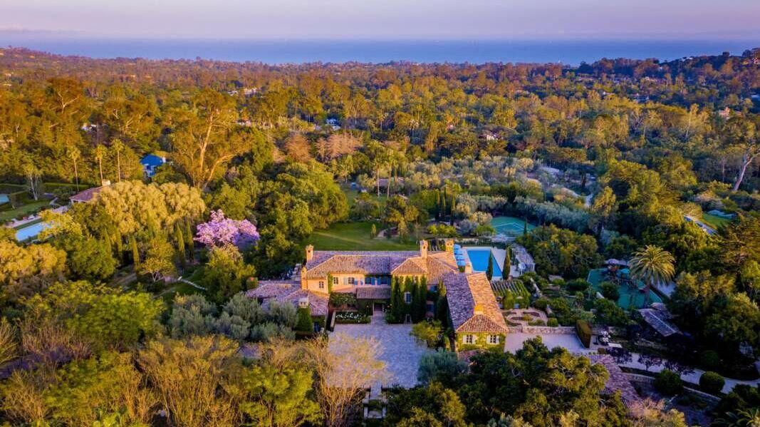 Propriété de Meghan et Harry à Montecito en août 2020