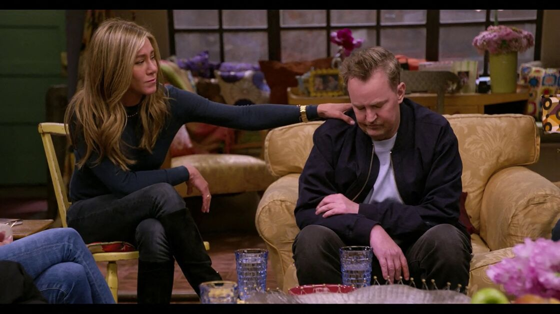 Jennifer Aniston et Matthew Perry dans