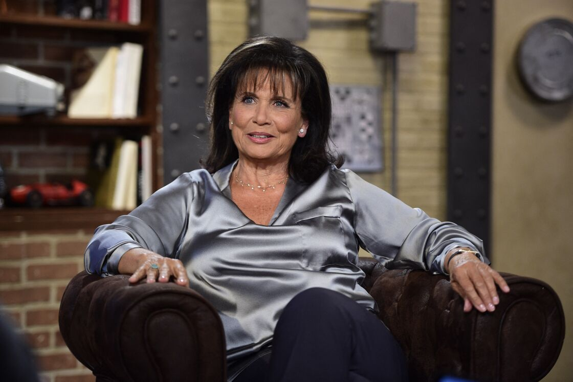 Enregistrement de l'émission Rembob'Ina avec Anne Sinclair le 8 octobre 2019.