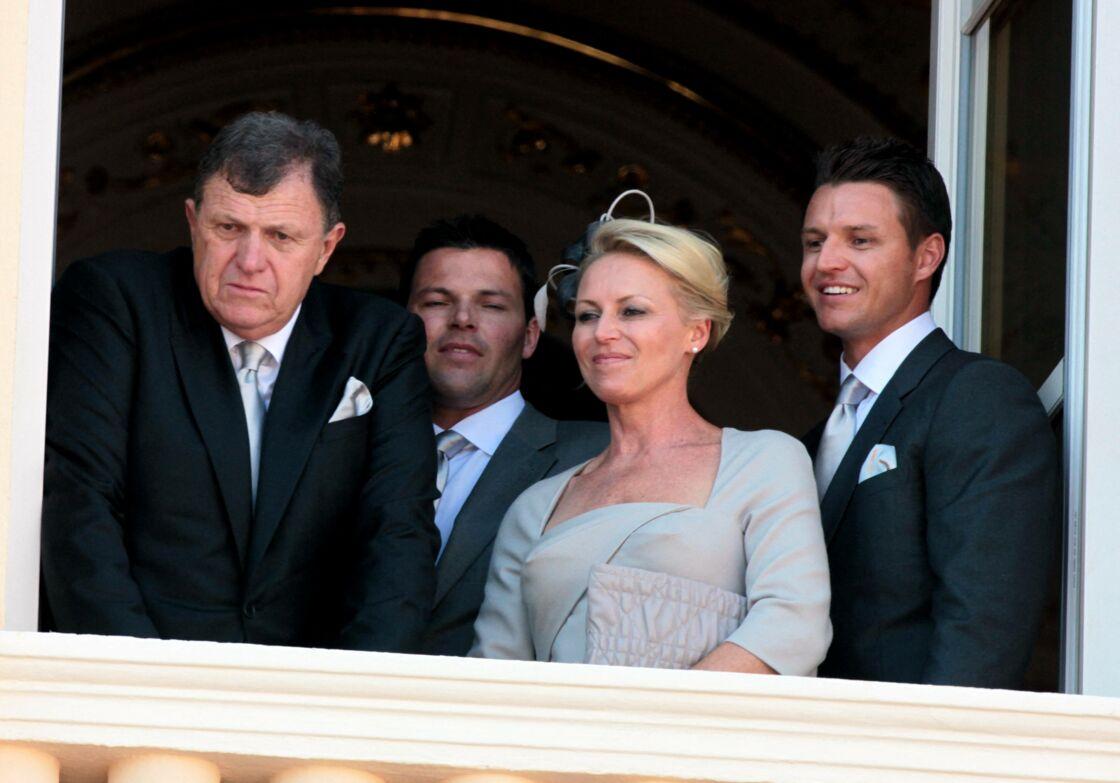 La famille de Charlene de Monaco assiste au mariage civil, le 1er juillet 2011 à Monaco