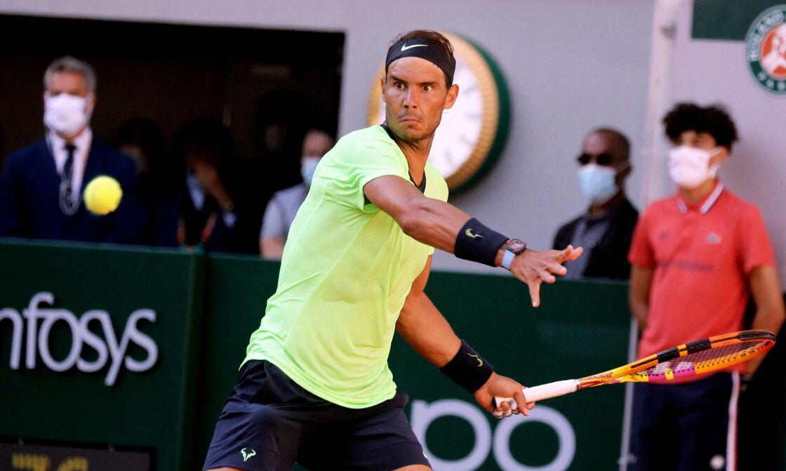 Rafael Nadal et sa montre flashy Richard Mille estimée à 900 000€