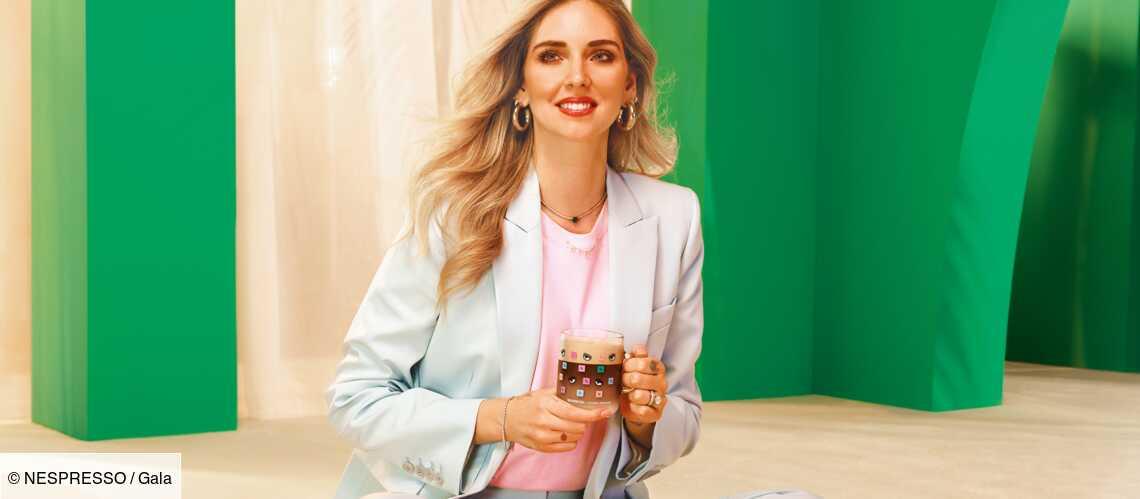 PHOTOS – Chiara Ferragni, nouvelle ambassadrice Nespresso : découvrez sa collection pop et colorée - Gala