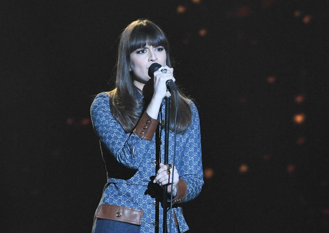 Clara Luciani lors des Victoires de la musique en 2021.