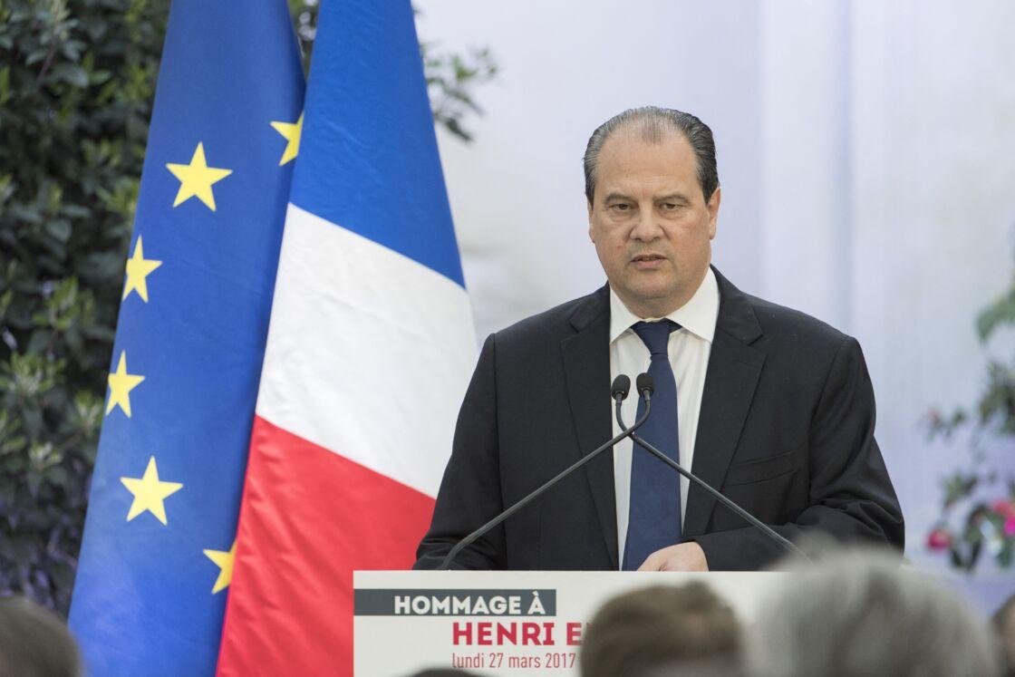 Jean-Christophe Cambadélis - Le parti socialiste rend hommage à Henri Emmanuelli au siège du parti socialiste à Paris le 27 mars 2017