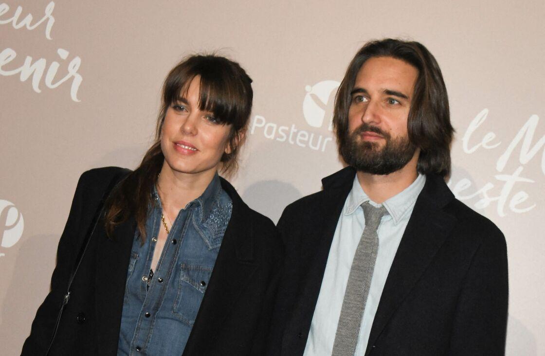 Charlotte Casiraghi et Dimitri Rassam en décembre 2019.