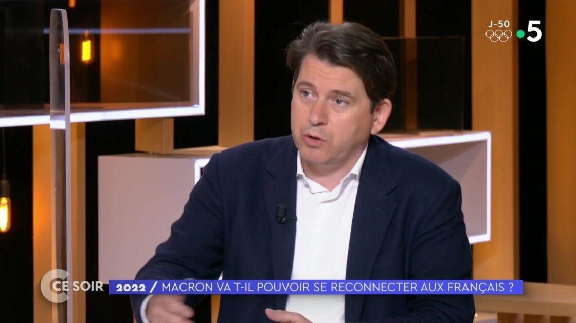 Sylvain Fort, ancien conseiller de communication d'Emmanuel Macron, dans C ce soir, le 3 juin 2021, sur France 5