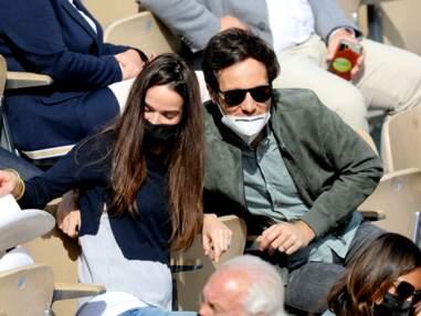 PHOTOS - Vianney et Catherine Robert : un couple stylé et amoureux à Roland Garros