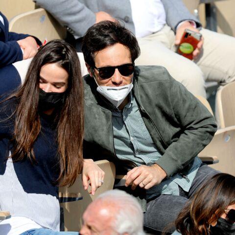 PHOTOS – Vianney et Catherine Robert: un couple stylé et amoureux à Roland Garros