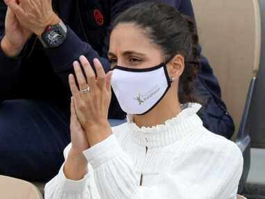PHOTOS - Rafael Nadal : sa femme Xisca Perello lookée et très concentrée pour le soutenir