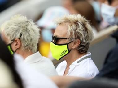 PHOTOS - Muriel Robin et Anne Le Nen complices et passionnées à Roland Garros