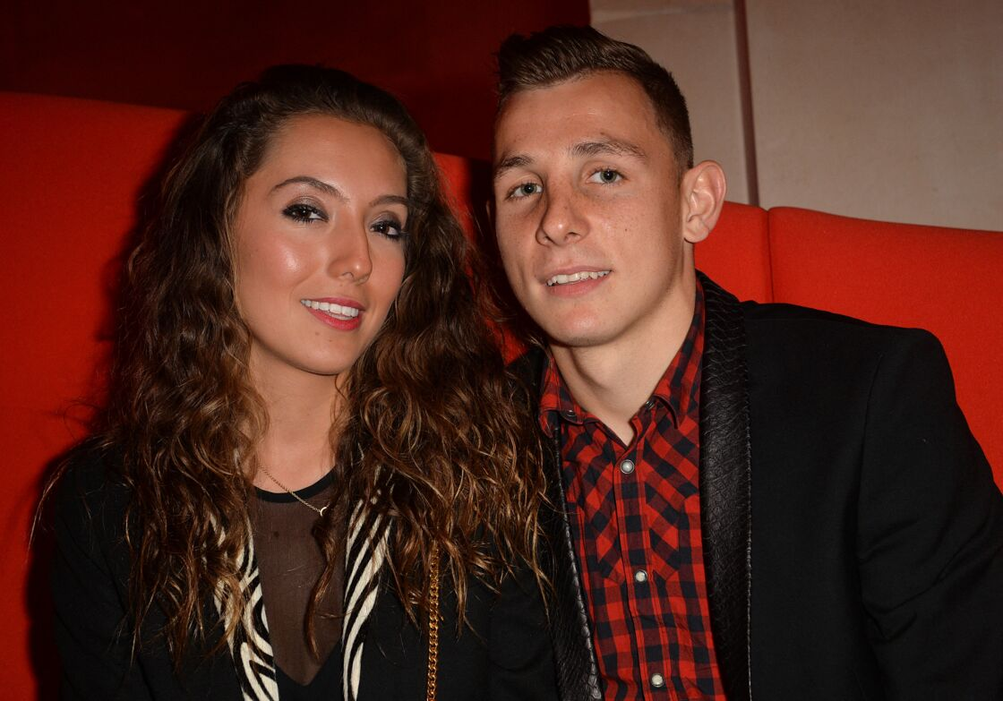 Tiziri et Lucas Digne se sont mariés en décembre 2014