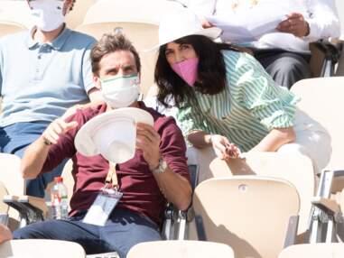 PHOTOS - Nolwenn Leroy et Arnaud Clément toujours aussi amoureux à Roland Garros
