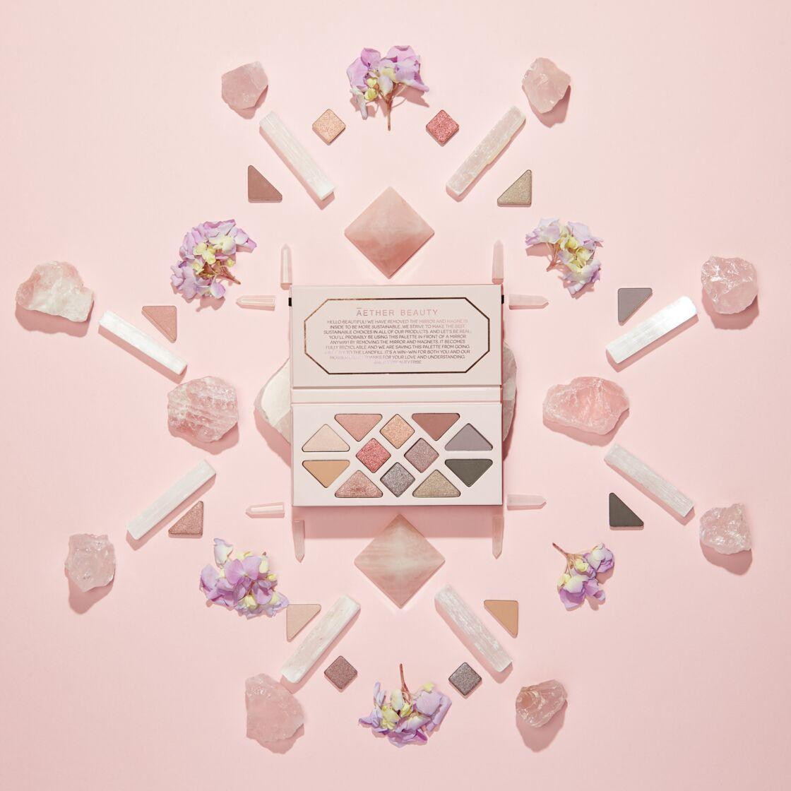 Palette Rose Quartz, Aether Beauty, 63€ sur moncornerb.com