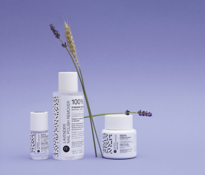 Gamme Lavender Nail Polish Remover, Nailmatic, à partir de 6€ sur nailmatic.com