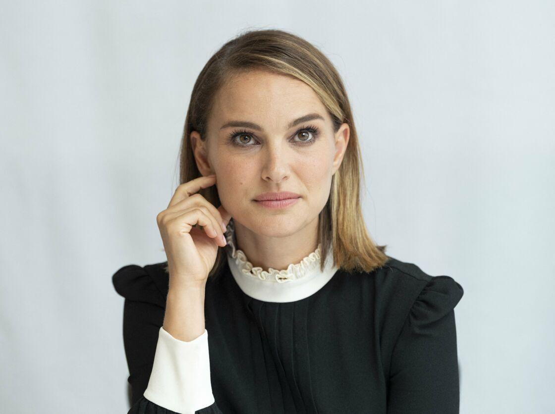 Natalie Portman et son carré lisse