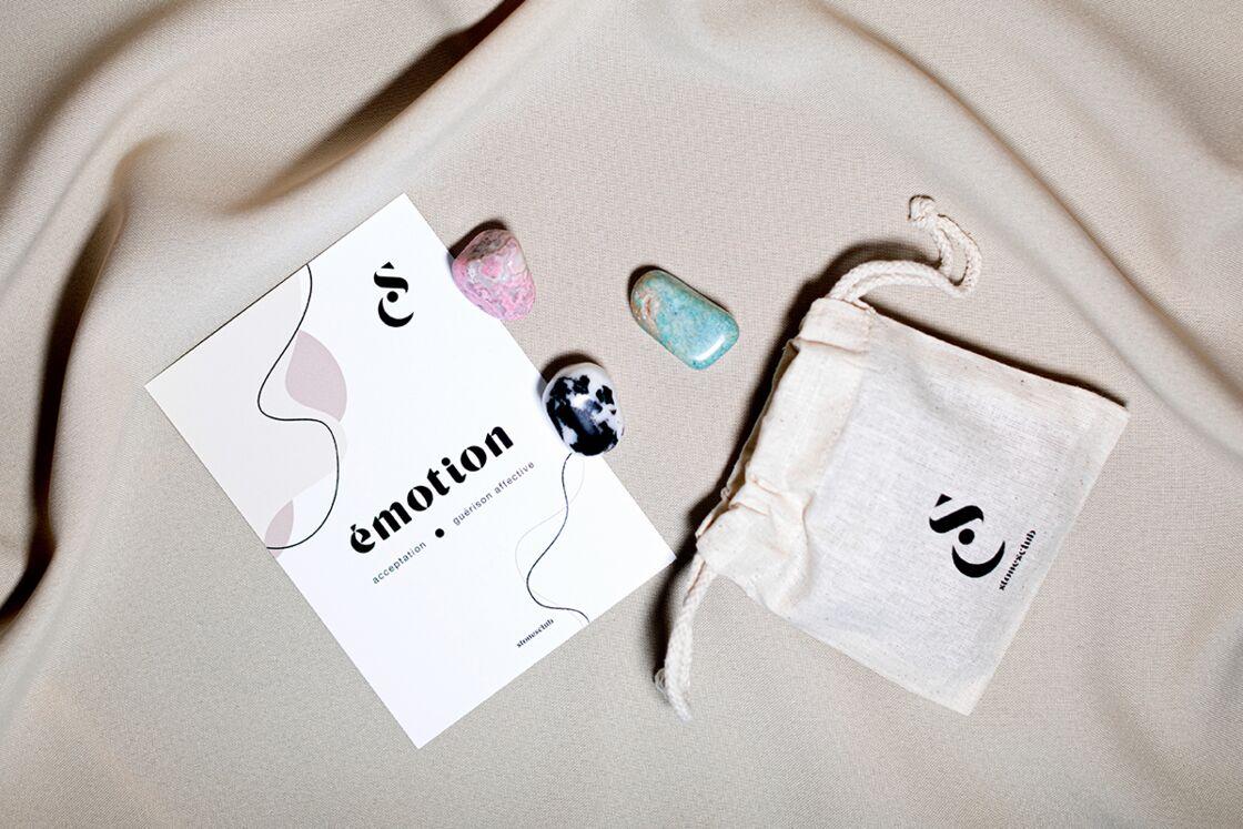 Kit Emotion, 34,90€ sur stonesclub.fr