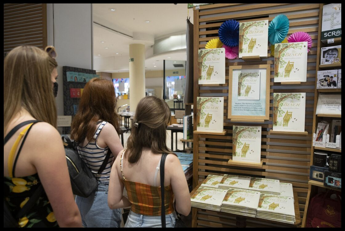 Le livre 'The Bench' est disponible en librairies depuis ce mardi 8 juin