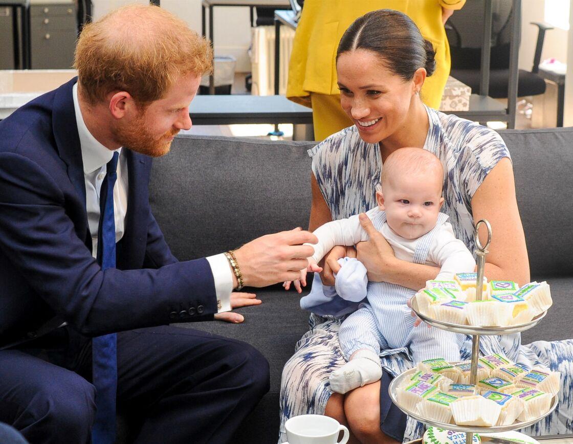 Harry, Meghan et Archie en septembre 2019.