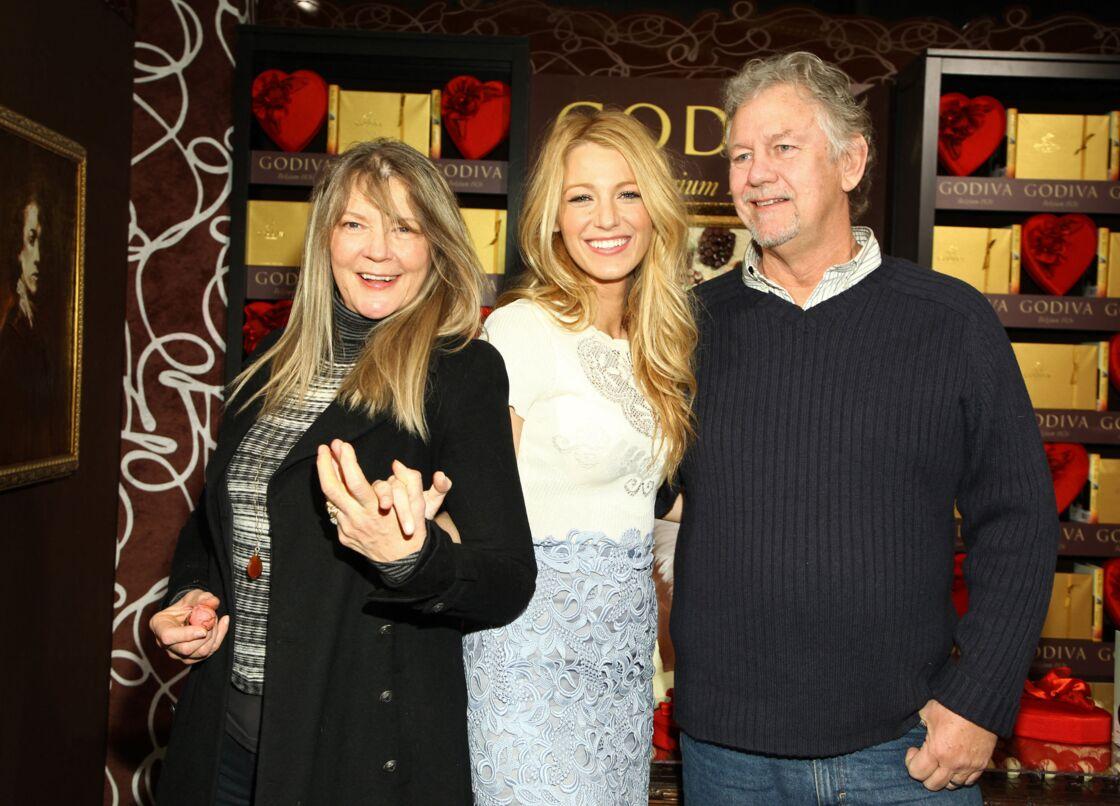 Blake Lively avec sa mère Elaine et son père Ernie