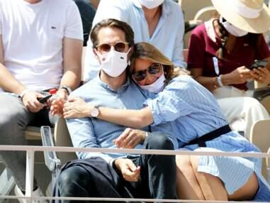 PHOTOS - Ophélie Meunier, Amir, Tony Parker... les couples s'affichent dans les gradins de Roland-Garros