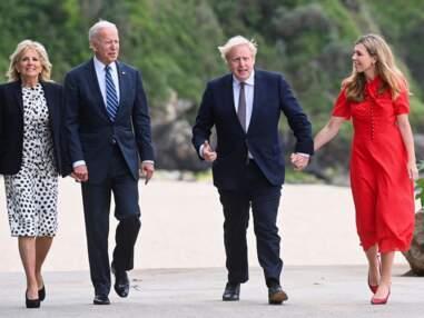 PHOTOS - Emmanuel et Brigitte Macron, Boris Johnson et Carrie Symonds... Qui sont les couples du G7 ?