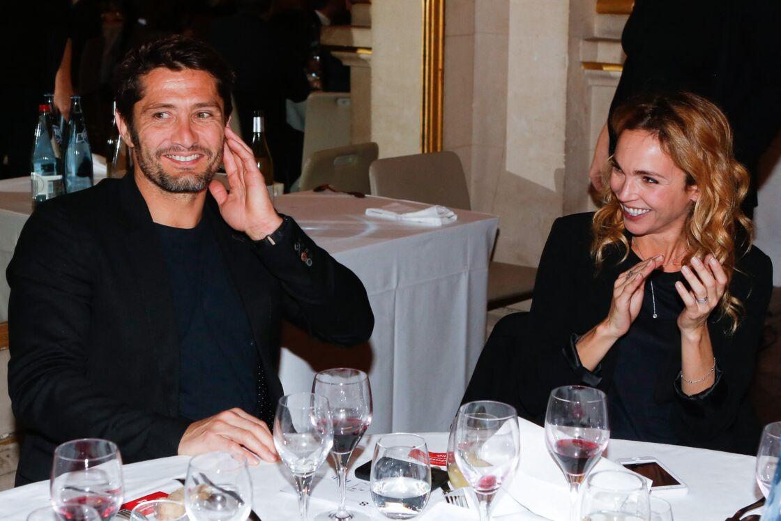 Bixente Lizarazu et Claire Keim en décembre 2014.