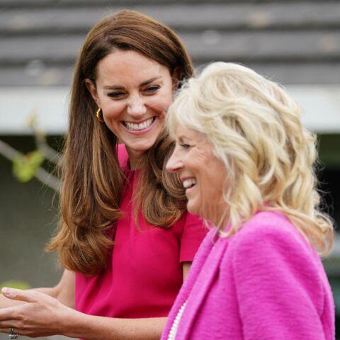 PHOTOS – Kate Middleton et Jill Biden: elles craquent pour la couleur tendance été 2021