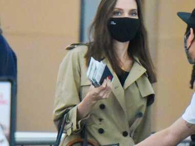 PHOTOS - Angelina Jolie : maman classe entourée de ses 6 enfants, après le revers du tribunal