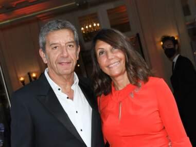 PHOTOS - Michel Cymes et son épouse Nathalie s'affichent lors d'une rare sortie en couple
