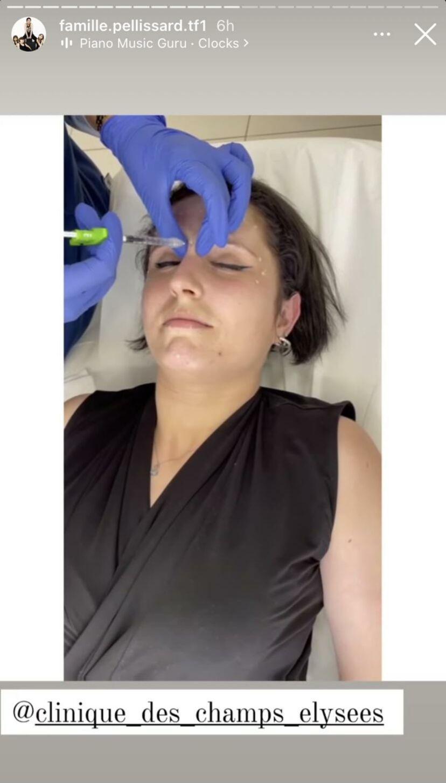 Amandine Pellissard a opté pour des injections