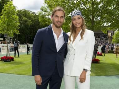 Camille Cerf était accompagnée de son nouvel amoureux Théo Fleury au Prix de Diane