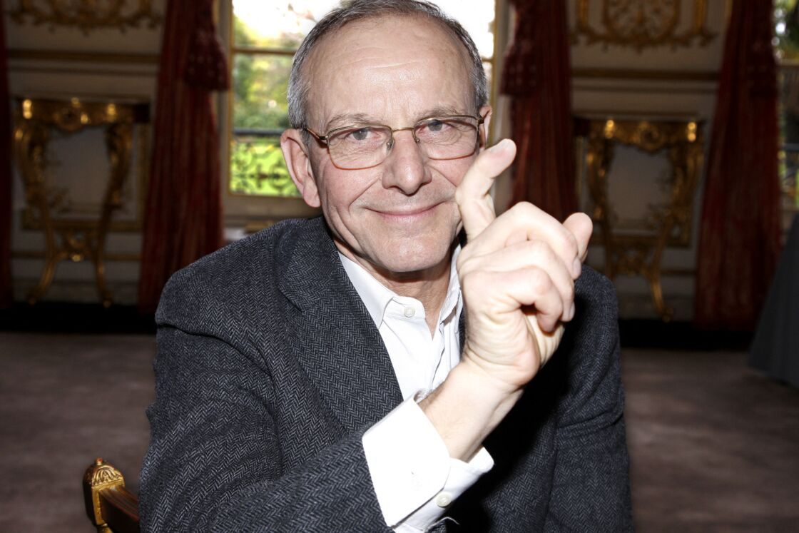 Axel Kahn, en 2014, lors d'un portrait.