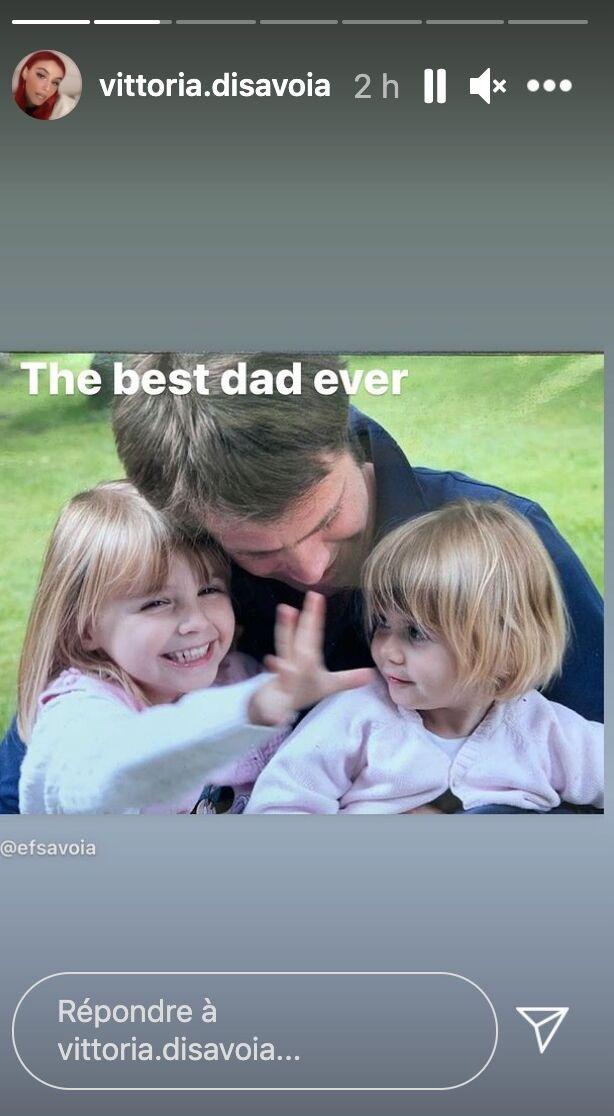 Vittoria de Savoie fait une tendre déclaration à son père, Emmanuel-Philibert de Savoie, sur Instagram à l'occasion de son anniversaire ce mardi 22 juin