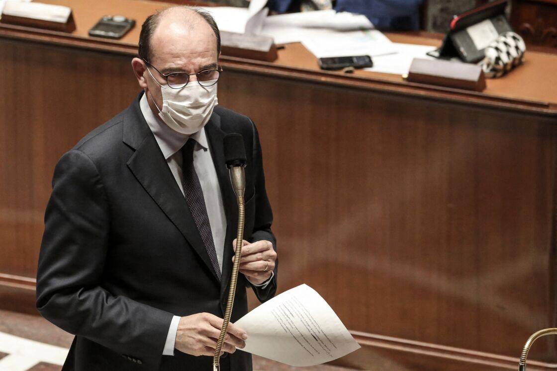 Le Premier ministre Jean Castex à l'Assemblée nationale le 8 juin 2021