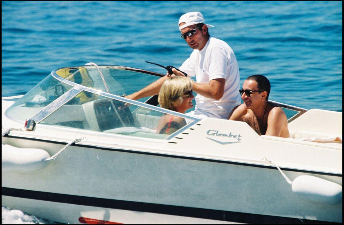 Lady Diana et Dodi Al-Fayed en été 1997