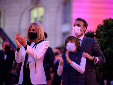 PHOTOS - Fête de la musique : Emmanuel et Brigitte Macron entrent dans la danse avec leur petit-fils !