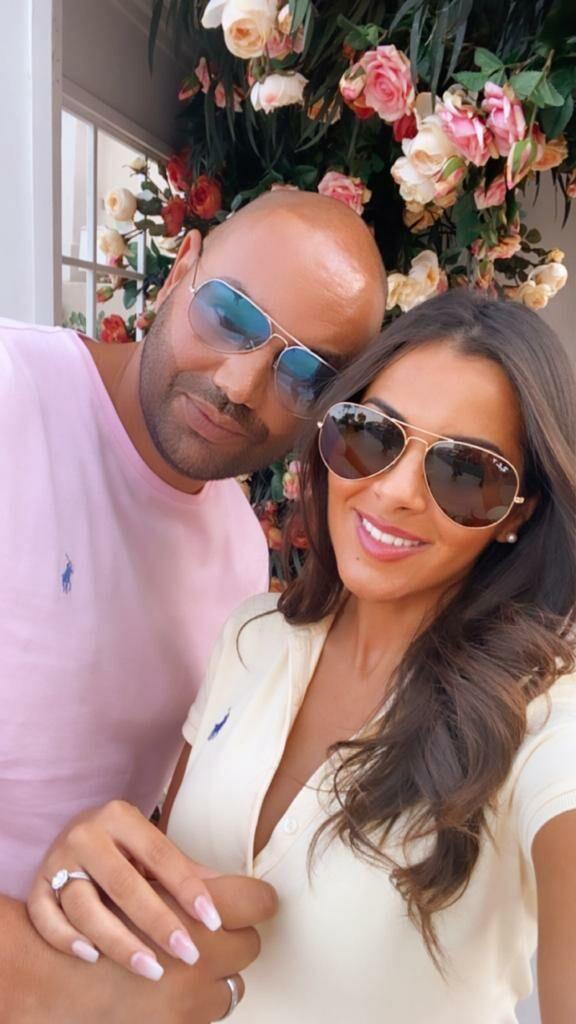Nawel Debbouze et son fiancé Fouad Ben Kouider